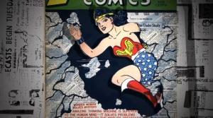 still of Wonder Woman from WONDER WOMEN! The Untold Story of American Superheroines