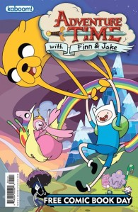Adventure Time with Finn and Jake Free Comic Book Day