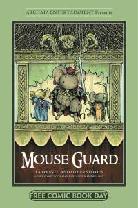 Mouse Guard the Labyrinth and More Free Comic Book Day HC