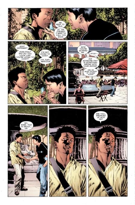 Northstar preparing to propose to boyfriend Kyle in Astonishing X-Men #50