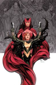 Hope and the Scarlet Witch from AvX #0