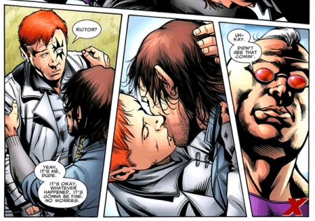 Ricotor and Shatterstar in X-Factor #45