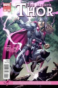 Thor #21 Susan G. Komen for the Cure Oct. Variant Cover