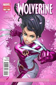 Wolverine #315 Susan G. Komen for the Cure Variant Cover X-23