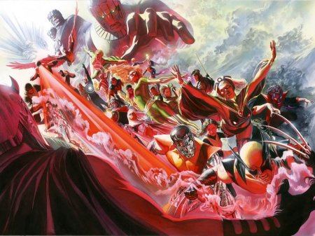 X-Men #500 Alex Ross Varient