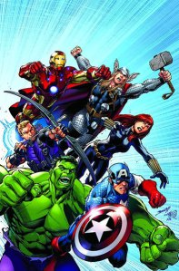 Captain America, Iron Man, Thor, Hulk, Black Widow, Hawkeye