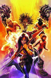 Danni Moonstar, Warlock, Magma, Karma, Sunspot as the New Mutants