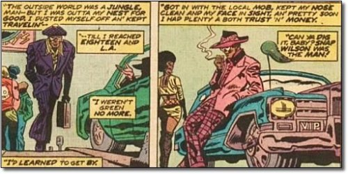 """Before he was Falcon, Sam """"Snap"""" Wilson was a pimp"""