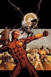 Cyclops, Storm, Emma Frost, Magneto, Namor, Danger, Colossus, Magik