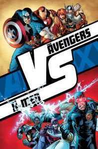 The Avengers vs X-Men Fight Book