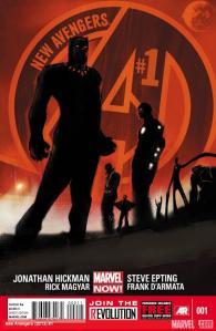 Jonathan Hickman's New Avengers #1 cover