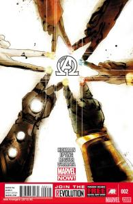 Jonathan Hickman's New Avengers #2 cover