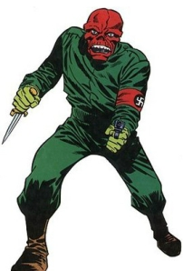 RL Brooklyn Robber looked like Marvel's Red Skull