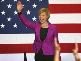 Wisconsin elect Tammy Baldwin as the first openly gay Senator