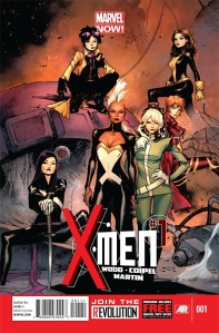 X-Women starring in X-Men as part of Marvel NOW!