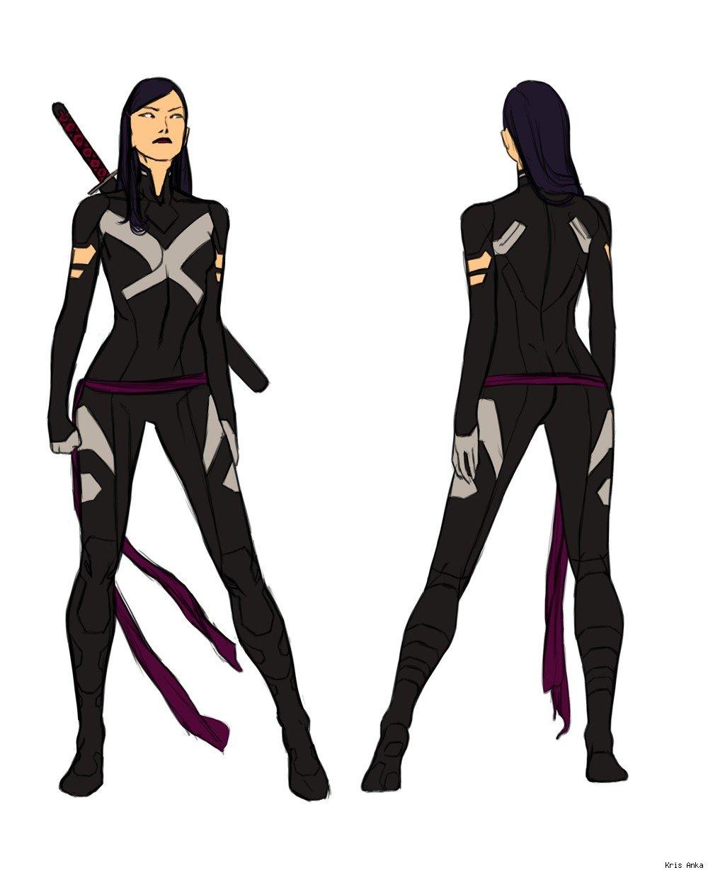 Uncanny X,Force\u0027s Psylocke with pants