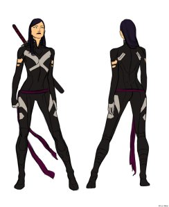 Uncanny X-Force's Psylocke with pants