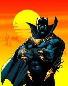First Black Superhero