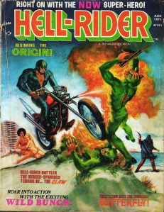 Hell-Rider #1 (August 1971) is the first appearance of Butterfly