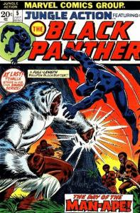 The Black Panther takes over Jungle Action