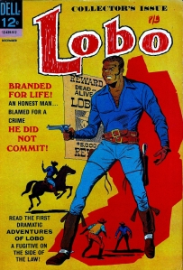 First appearance of Lobo the first black comic hero