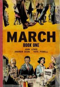 March (Book One) by Andrew Aydin and Congressman John Lewis and Nate Powell
