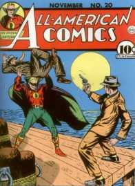 The Green Lantern (Alan Scott) on the cover or All-American Comics #20