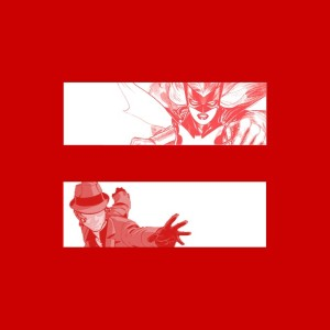 Andy Khouri's Batwoman and The Question marriage equality meme