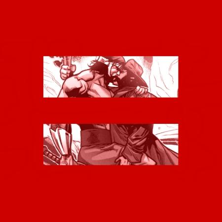 X-Treme X-Men's Howlett (Wolverine) and Herc Kissing