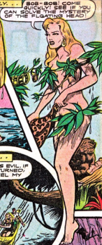objectification in Sheena Queen of the Jungle
