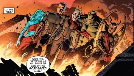 Red Skull's diverse S-Men