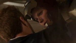Pepper Potts suits up and saves Tony in Iron Man 3