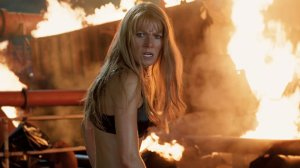 Pepper Potts saves Tony in Iron Man 3