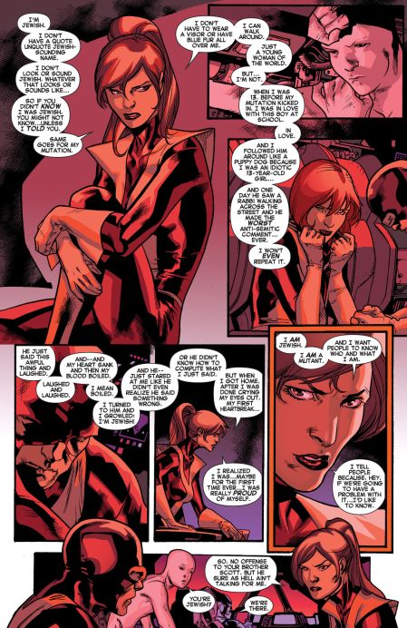 Kitty Pryde responds to Havok's M-Word Speech