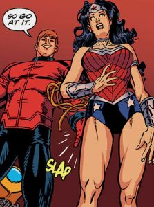 Orion sexualy assults Wonder Woman.