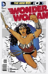 Wonder Woman #0 by Brian Azzarello and Cliff Chiang