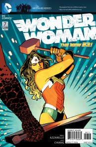 Wonder Woman #7 by  Brian Azzarello and Cliff Chiang