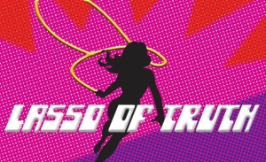 Lasso of Truth Wonder Woman logo