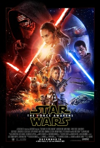 Official Star Wars The Force Awakens poster
